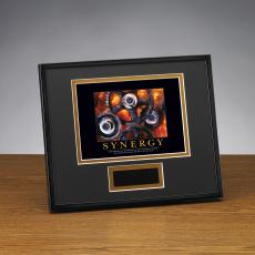Synergy Gears Framed Award