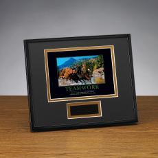 Teamwork Horses Framed Award