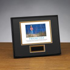 Priorities Boy Framed Award