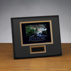 Framed Award - Attitude Rainbow Framed Award