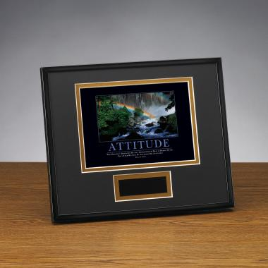 Attitude Rainbow Framed Award