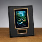 Goals Stream Framed Award