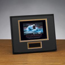 Framed Award - Leadership Lighthouse Framed Award