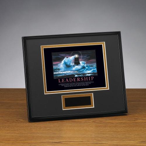 Leadership Lighthouse Framed Award