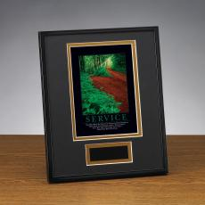 Framed Award - Service Path Framed Award