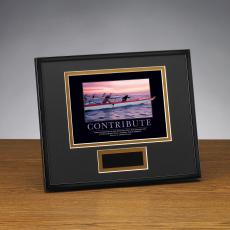 Contribute Paddlers Framed Award