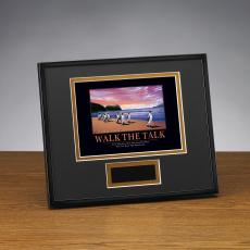 Walk The Talk Framed Award