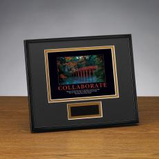 Successories Image Awards - Collaborate Bridge Framed Award
