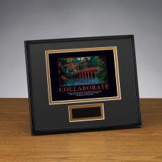 Framed Award - Collaborate Bridge Framed Award