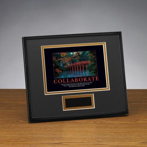 Collaborate Bridge Framed Award