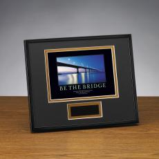 Framed Award - Be The Bridge Framed Award