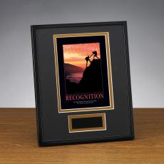 Recognition Climbers Framed Award