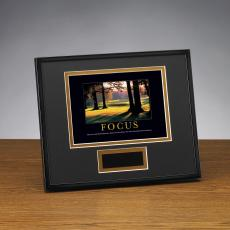 Focus Golf Framed Award