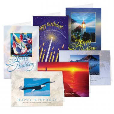 Happy Birthday Card Sampler