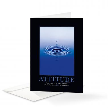 Attitude Drop 25-Pack Greeting Cards