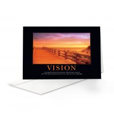 Classic Motivational Cards - Vision Boardwalk 25-Pack Greeting Cards