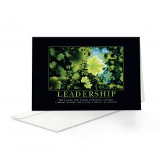 Classic Motivational Cards - Leadership Leaf 25-Pack Greeting Cards