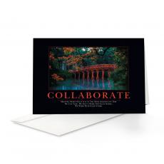 Closeout and Sale Center - Collaborate Bridge 25-Pack Greeting Cards
