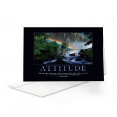 Classic Motivational Cards - Attitude Rainbow 25-Pack Greeting Cards