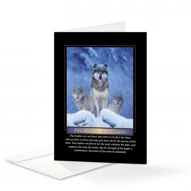 Power of A Leader 25-Pack Greeting Cards