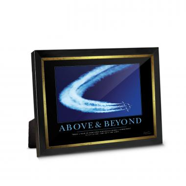Above & Beyond Jets Framed Desktop Print