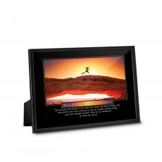 Framed Desktop Prints - Essence of Persistence Runner Framed Desktop Print