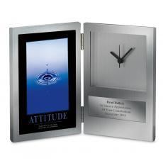 Retirement Gifts - Attitude Drop Desk Clock