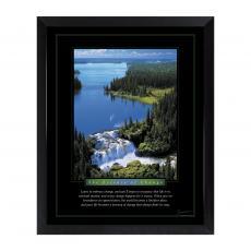 Mini Motivational Posters - Change Waterfall Mini Motivational Poster