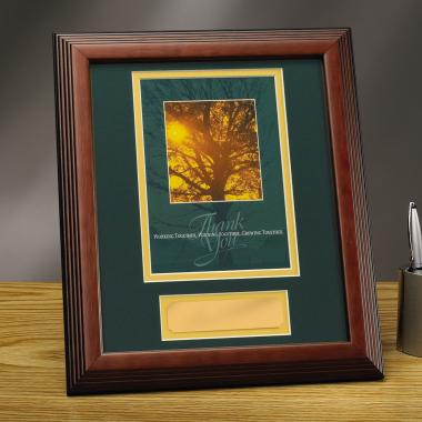 Thank You Tree Framed Award