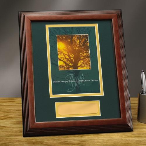 Thank You Tree Framed Award