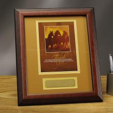 Framed Award - Thank you Horses Framed Award
