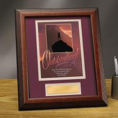Framed Award - Outstanding Framed Award