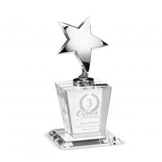 Crystal Trophies - Star Performer Crystal Award