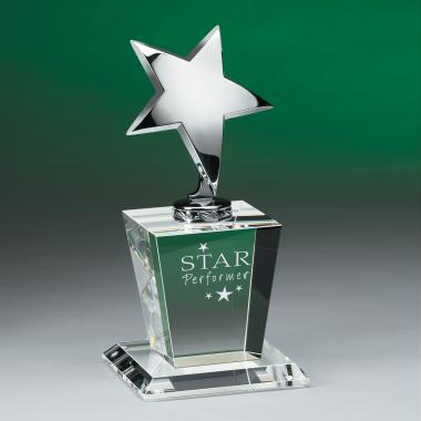 Star Performer Crystal Award