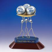 Closeout and Sale Center - Together We Can Kinetic Sculpture