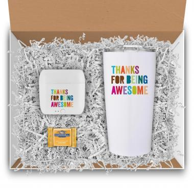 Thanks for Being Awesome Tech & Tumbler Gift Box