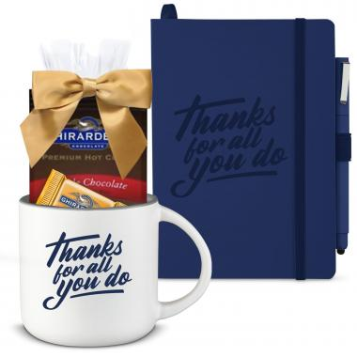 Thanks Gift Box - Good Morning Sets - Ghirardelli