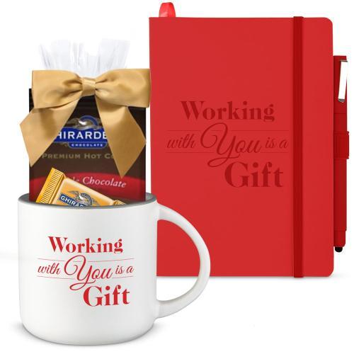 Holiday Gift Box - Good Morning Sets - Ghirardelli