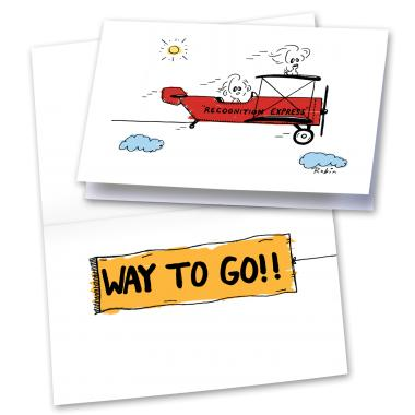 Buy greeting cards - Successories Recognition Express 25-Pack Greeting Cards