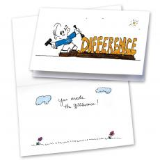 You Made the Difference 25-Pack Greeting Cards