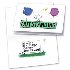 Outstanding 25-Pack Greeting Cards
