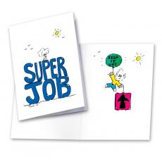 Super Job 25-Pack Greeting Cards