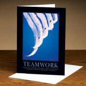 Teamwork Jets 25-Pack Greeting Cards