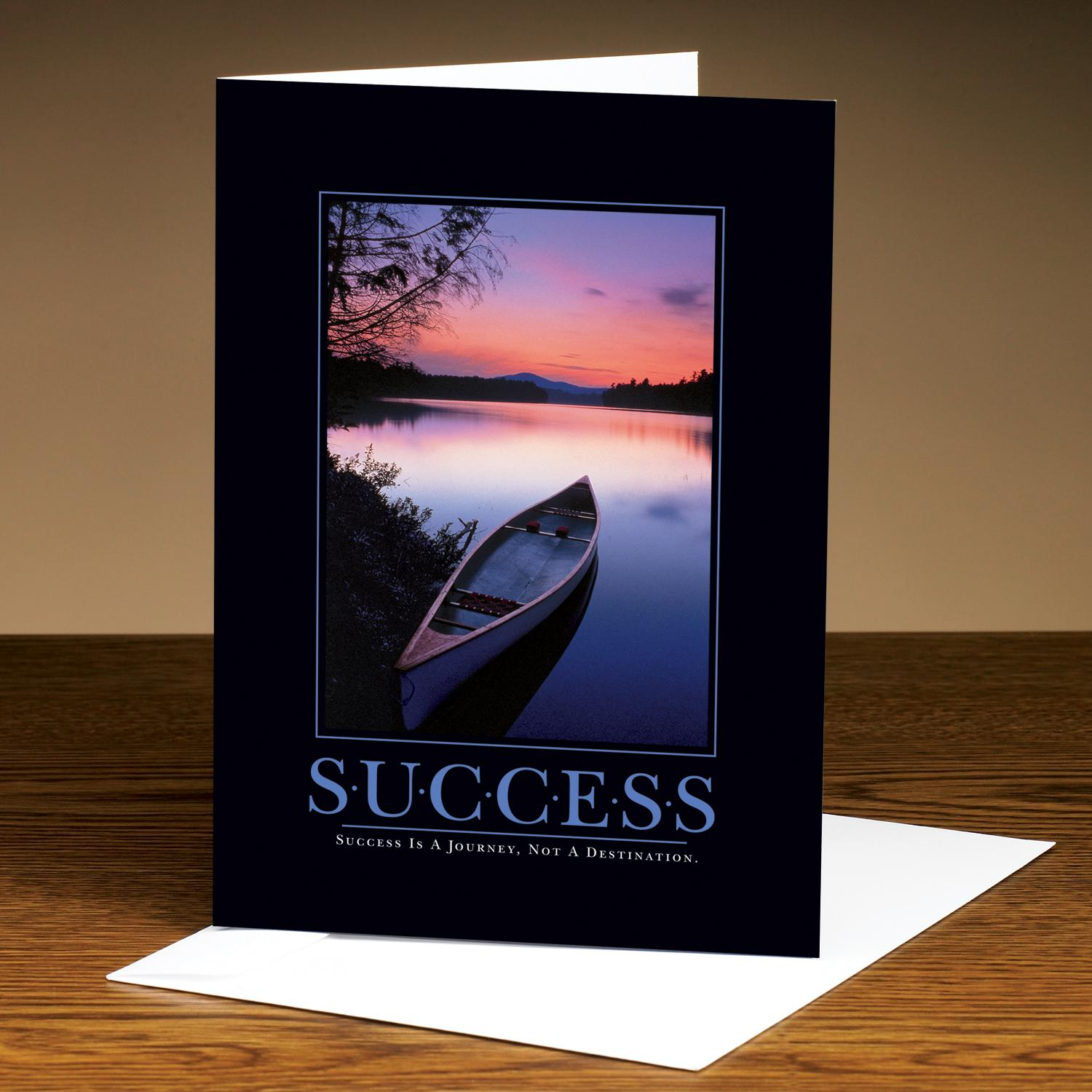 Success Canoe 25-Pack Greeting Cards