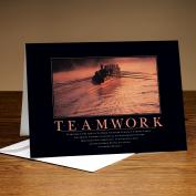 Teamwork Rowers 25-Pack Greeting Cards Classic Motivational (726153)