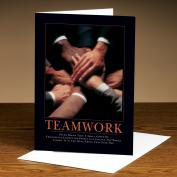 Teamwork Hands 25-Pack Greeting Cards  (726172)