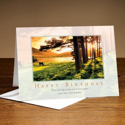 Happy Birthday Sunshine Greeting Cards