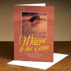 Welcome To Our Team Rowers 25-Pack Greeting Cards