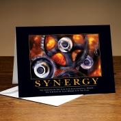Synergy Gears 25-Pack Greeting Cards  (726211)