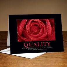 Quality Rose 25-Pack Greeting Cards